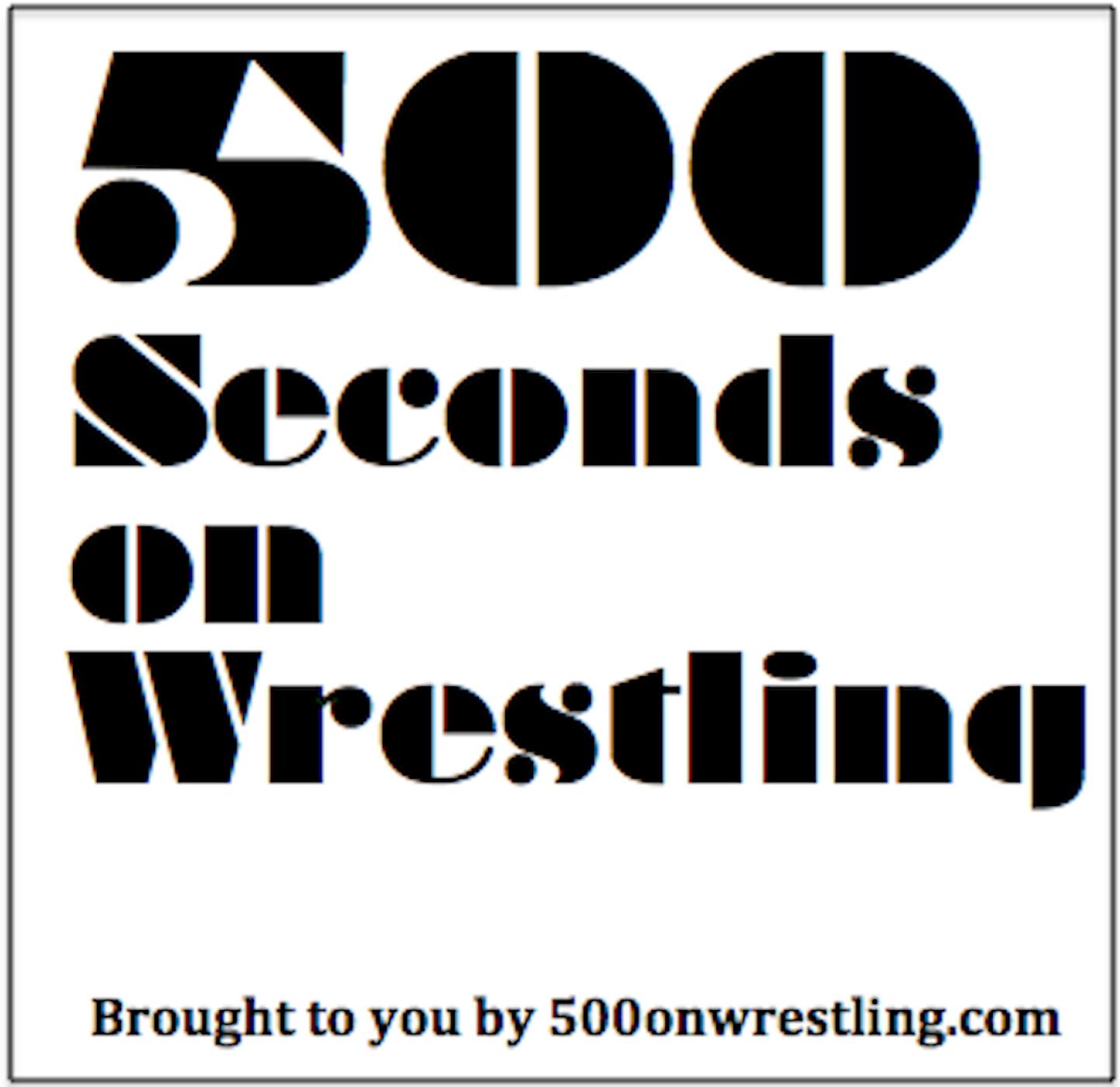 500 Words on Wrestling